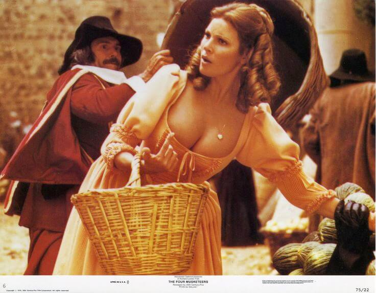 three musketeers raquel welch