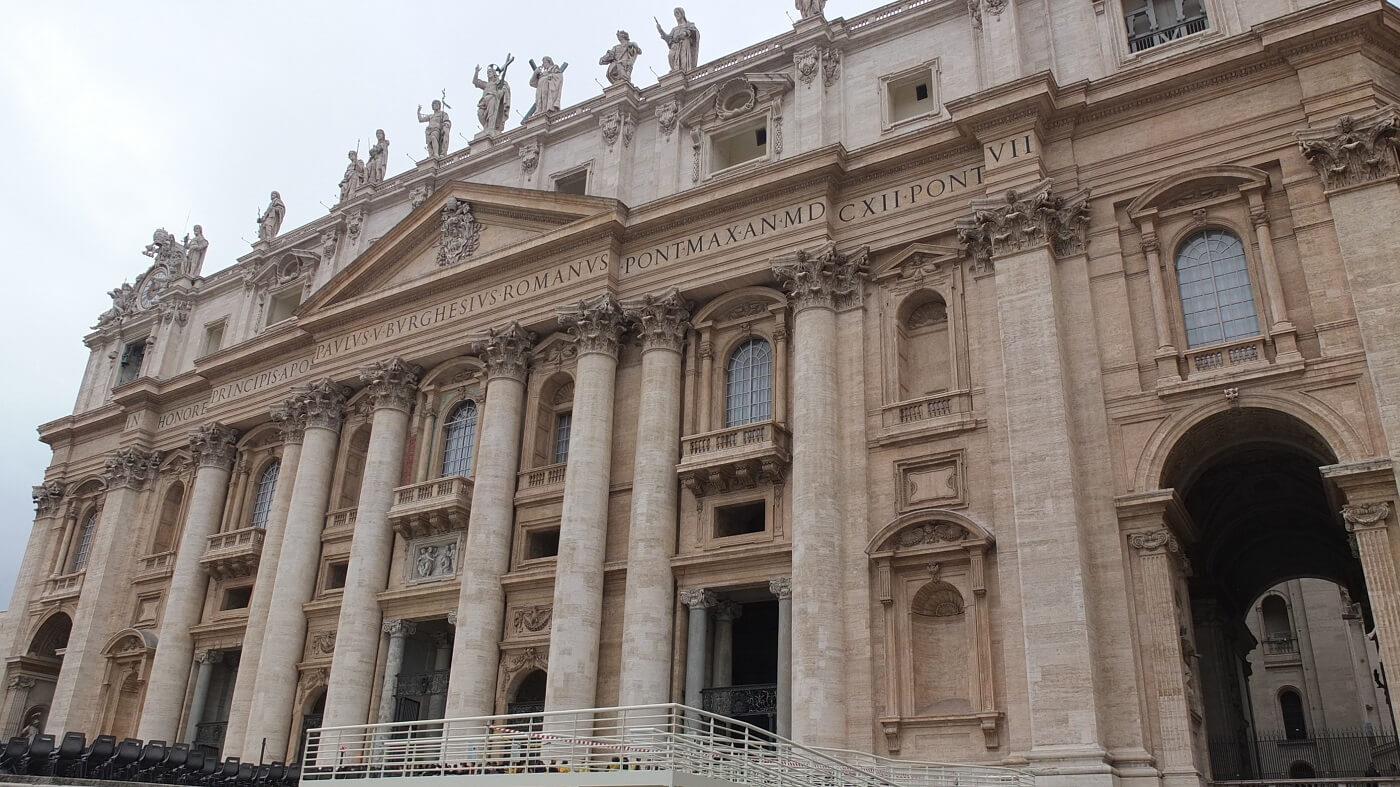 Exterior Catedrala Sfantul Petru